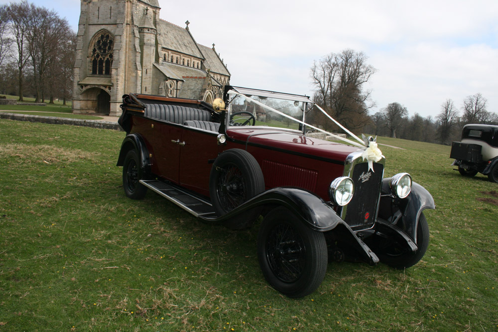 Details Of Austin Tourer The Perfect Wedding Car